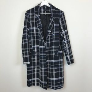 Long plaid waistcoat from ASOS